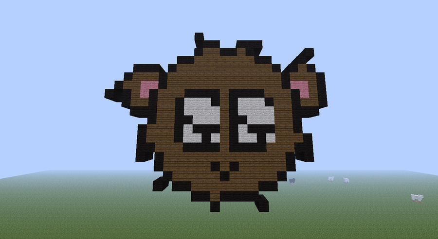 How To Build A Teddy Bear In Minecraft