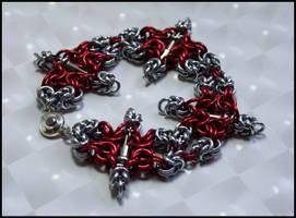Castle Maille Bracelet 2 2317 by FeMailleTurtle