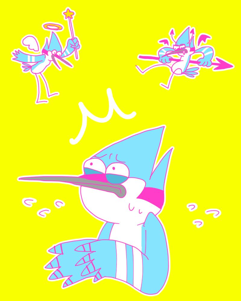 Mordecai by OysteIce