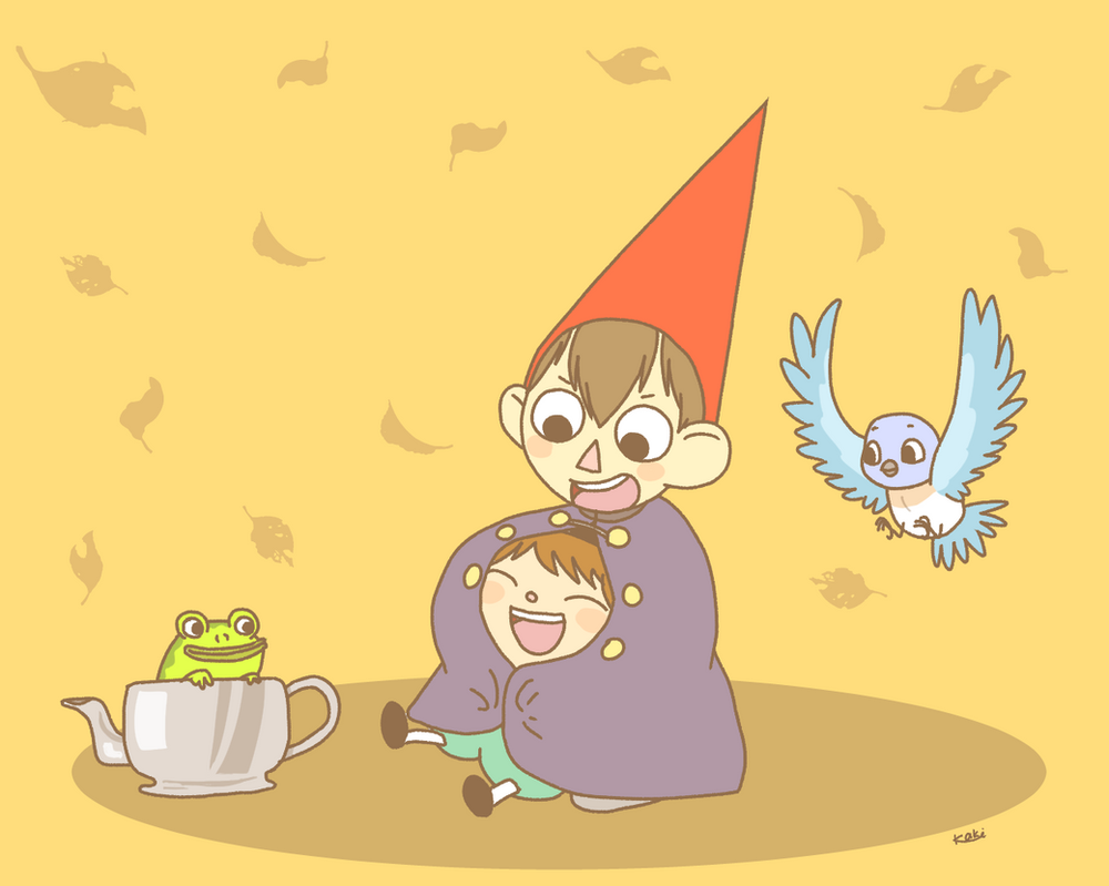 Over the Garden Wall by OysteIce on DeviantArt
