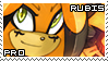 Rubis the Devil Stamp by RecklessKaiser