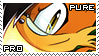 Pure the Fox Stamp by RecklessKaiser