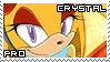 Crystal the Squirrel Stamp by RecklessKaiser