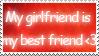 My Best Friend Stamp by RecklessKaiser