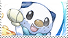 Oshawott Stamp by RecklessKaiser