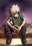Boku no Hero Academia - Bakugou