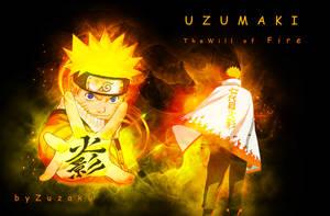 Naruto will of Fire by Zuzako