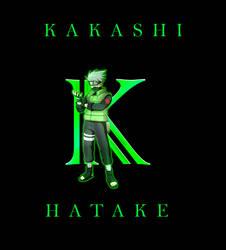 Kakashi Typography Letter