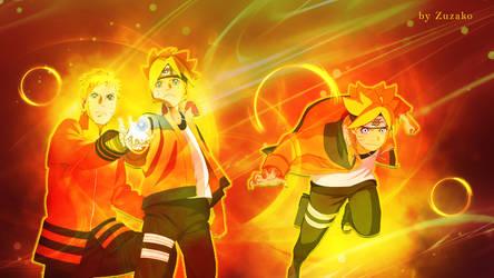 Boruto and Naruto Uzumaki Legacy