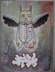 Owl Bunny? by Raskha