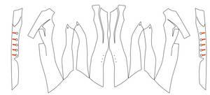 ACIII Liberation - Aveline s coat pattern
