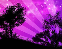 Purple Hill by Xyrax