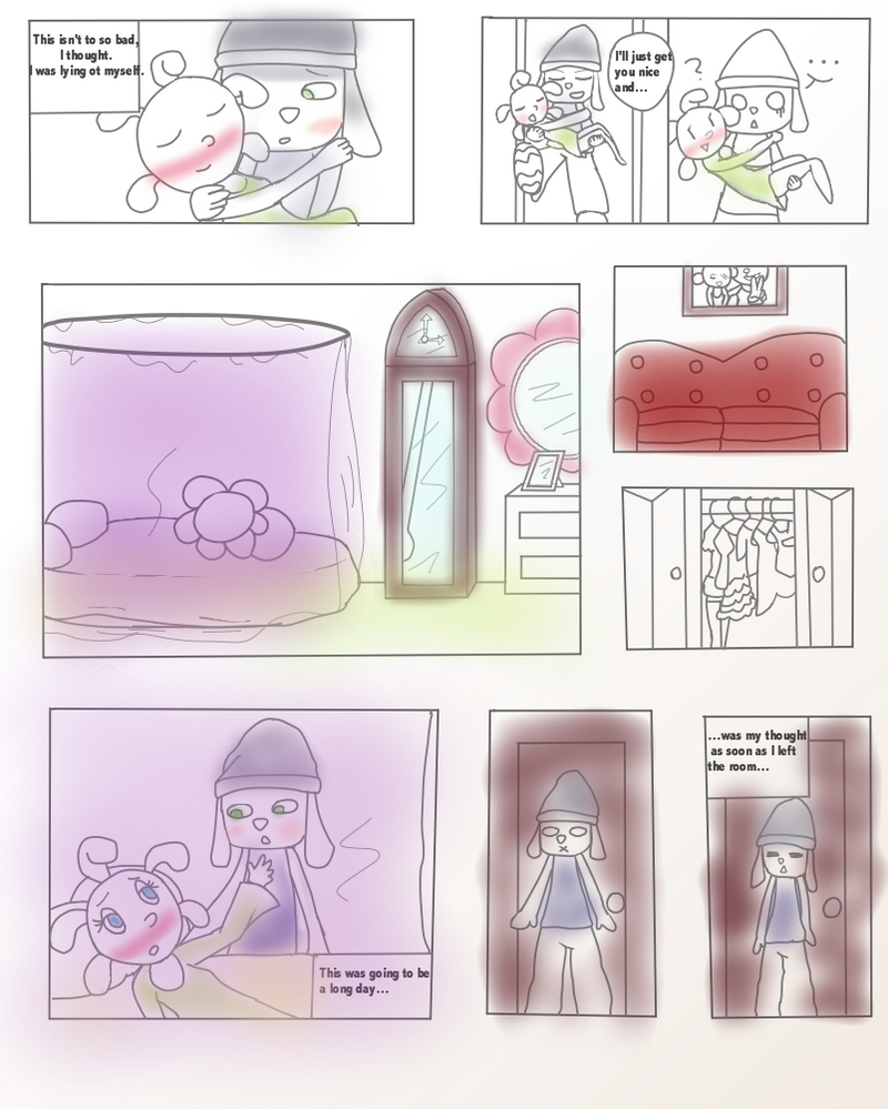 PaRappa The Rapper-Sick day! Page 5 by SuperFlandreBros