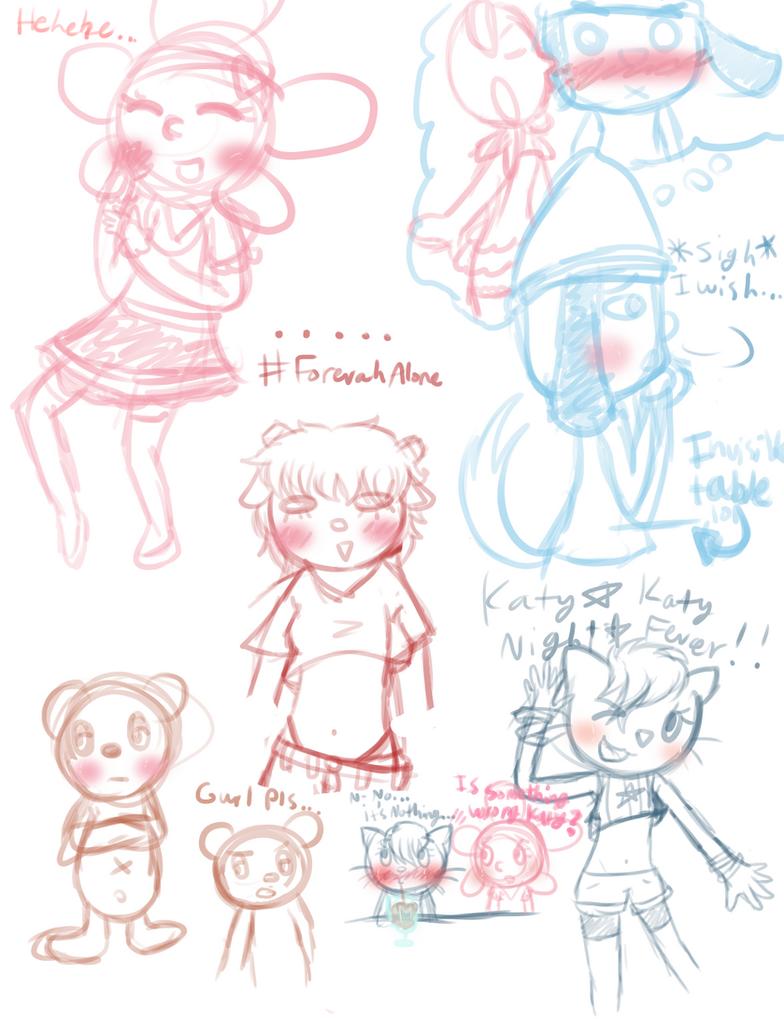Doodles by SuperFlandreBros