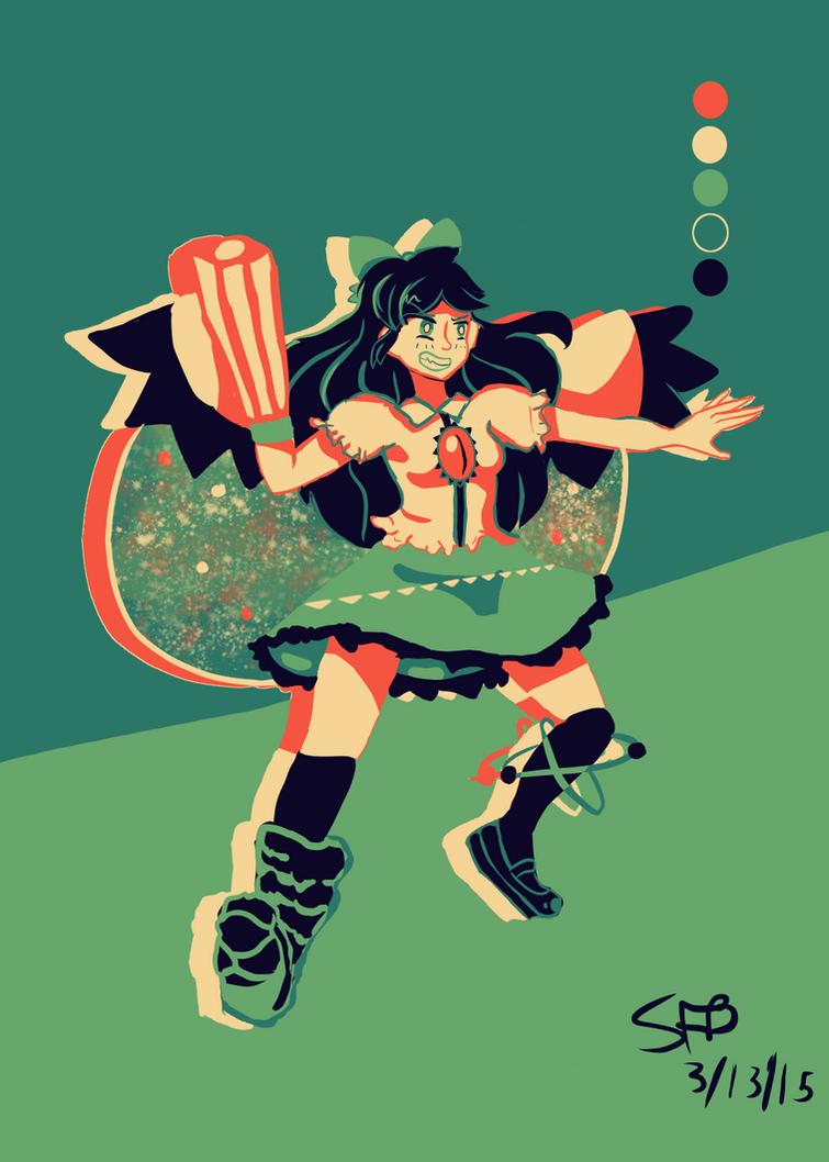 Touhou: Utsuho Reiuji by SuperFlandreBros