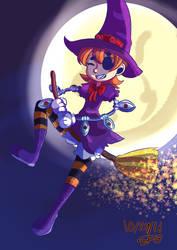 Halloween Pea by SuperFlandreBros
