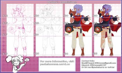 SuperFlandreBros/Peakek's Commission Sheet! by SuperFlandreBros