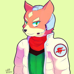 Fanart: Fox McCloud Time! by SuperFlandreBros