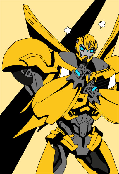 tfp bumblebee unfinished by uwall on deviantart