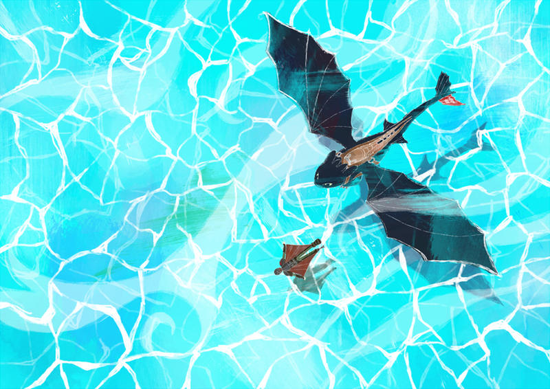 How To Train Your Dragon 2 by Uwall