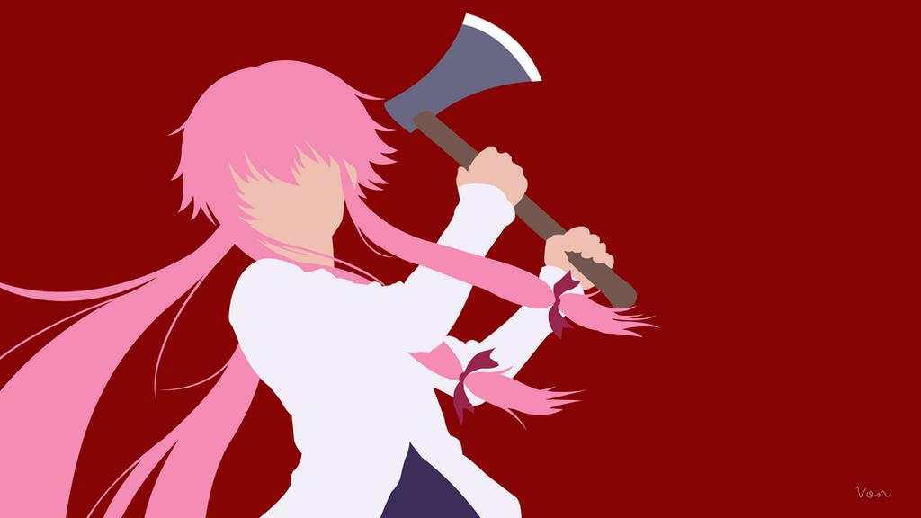 Mirai Nikki Gasai Yuno Yandere Anime Anime Girls: Mirai Nikki By CahyoVON On DeviantArt