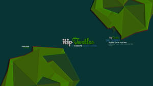 New youtube layout - Itipturtles banner