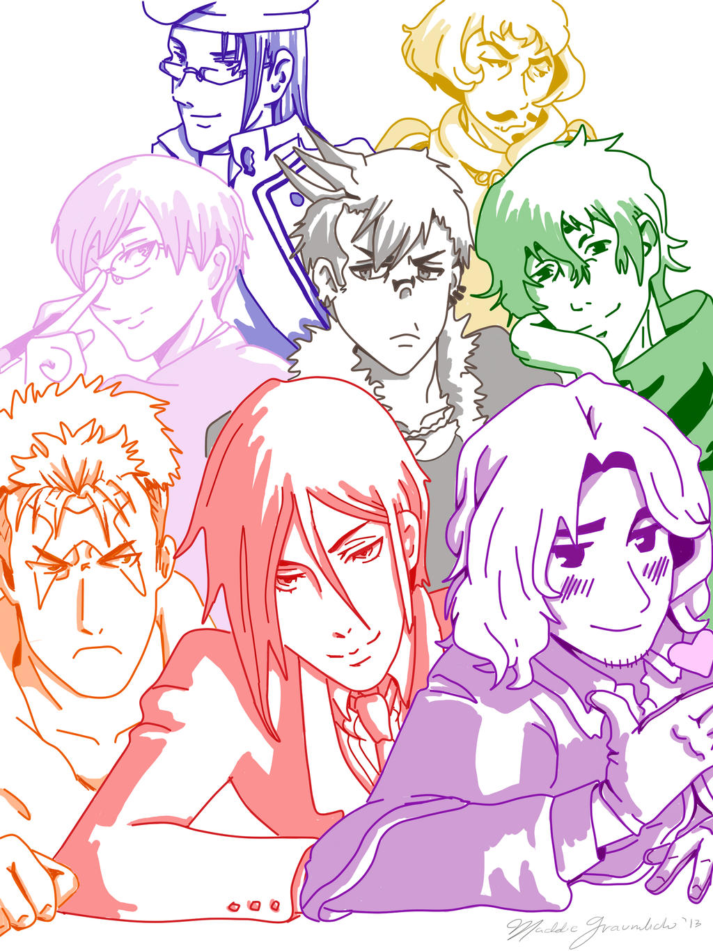 j michael tatum anime characters - photo #6