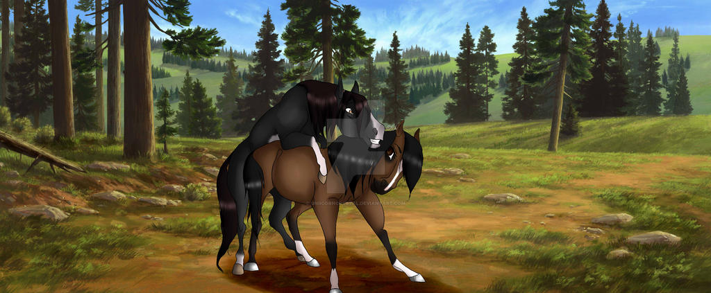 Diablo and Sanae Love by UniicornCrystal