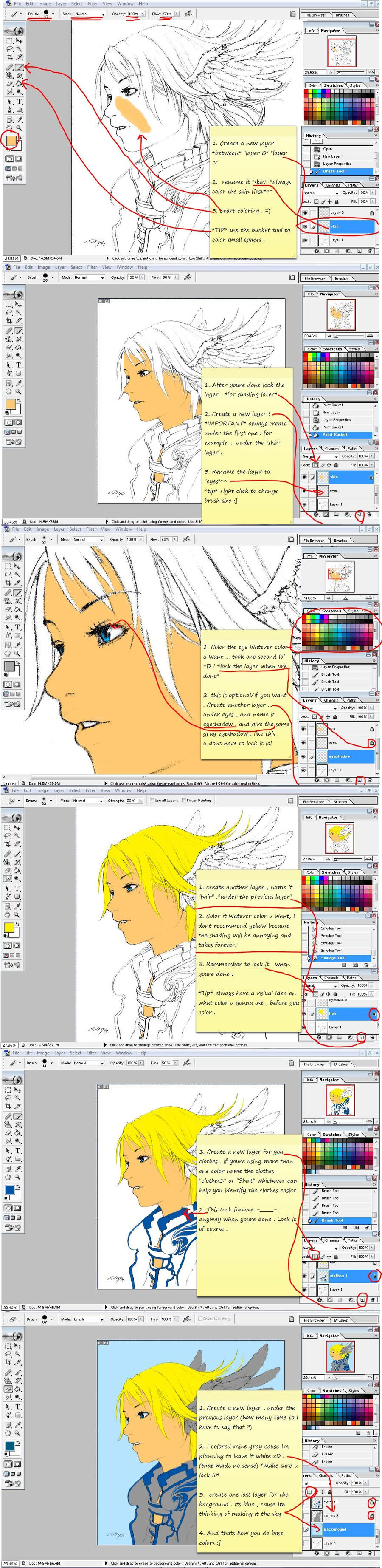 How to Color your Lines by nejean