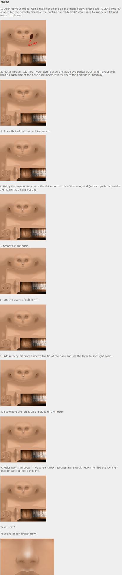 IMVU: Cute nose (skin) by poowulpi