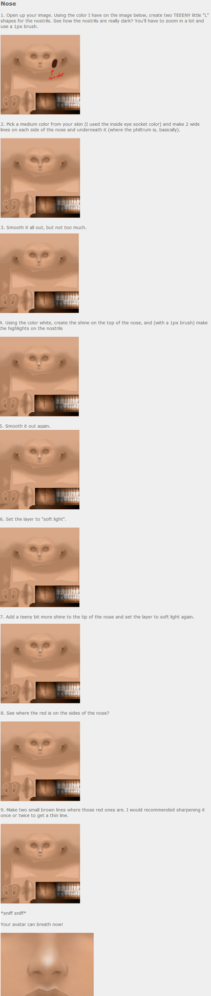 IMVU: Cute nose (skin) by poowulpi on DeviantArt