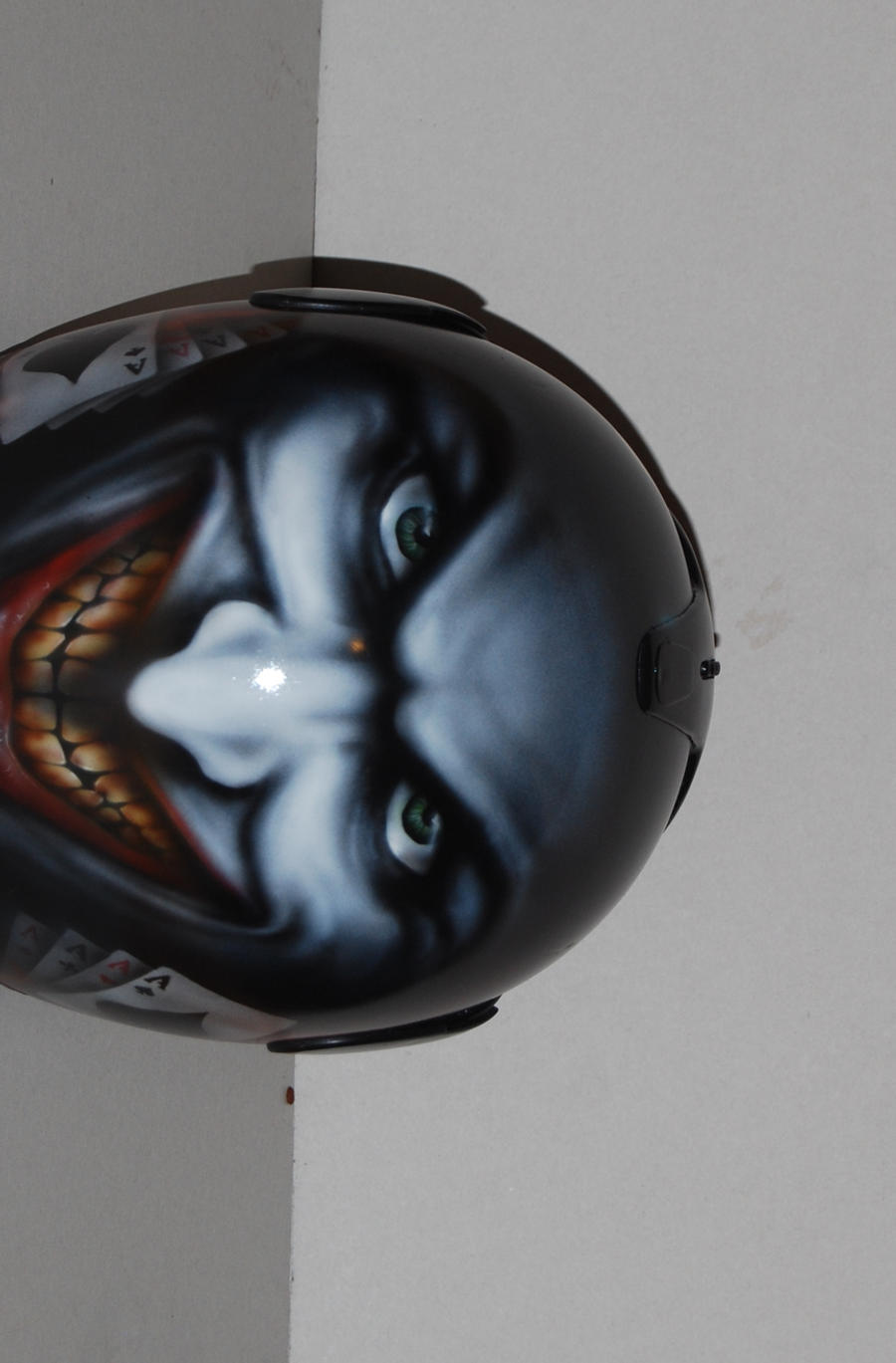Airbrush Joker Wallpaper: JOKER HELM AIRBRUSH By Agi2x On DeviantArt