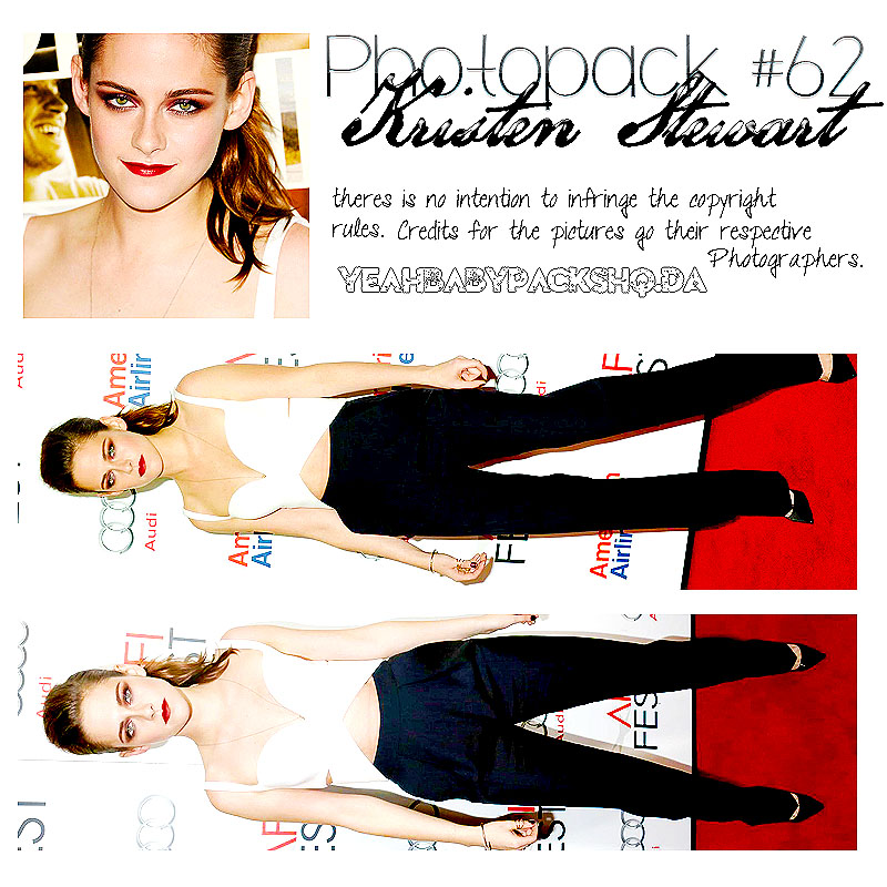 Photopack #62 Kristen Stewart by YeahBabyPacksHq