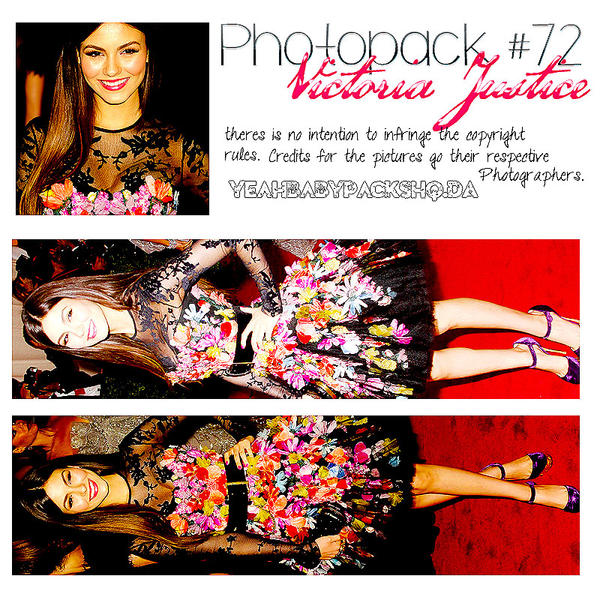 Photopack #72 Victoria Justice by YeahBabyPacksHq