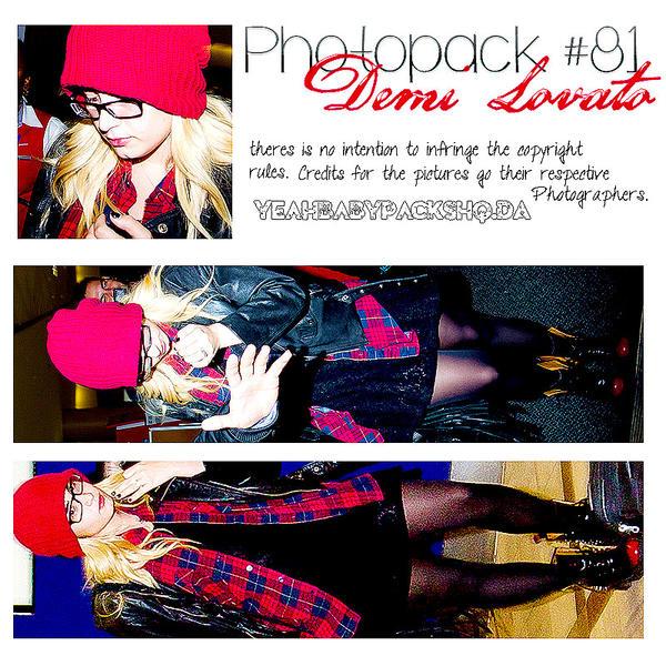 Photopack #81 Demi Lovato by YeahBabyPacksHq