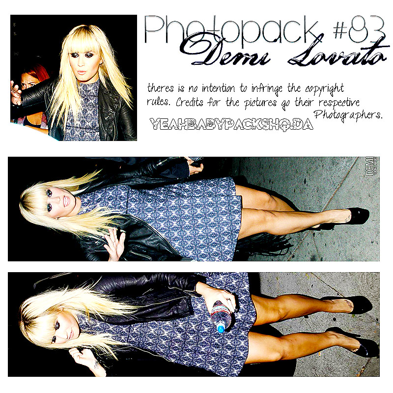 Photopack #83 Demi Lovato by YeahBabyPacksHq