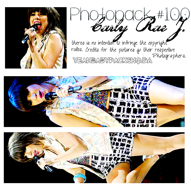 Photopack #100 Carly Rae J by YeahBabyPacksHq