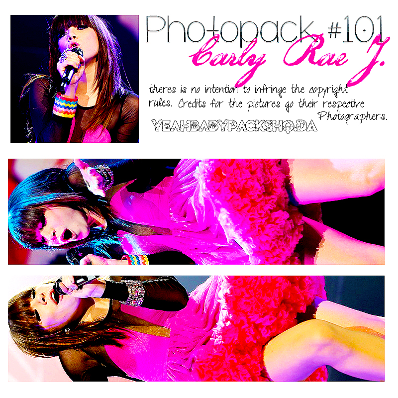 Photopack #101 Carly Rae J by YeahBabyPacksHq