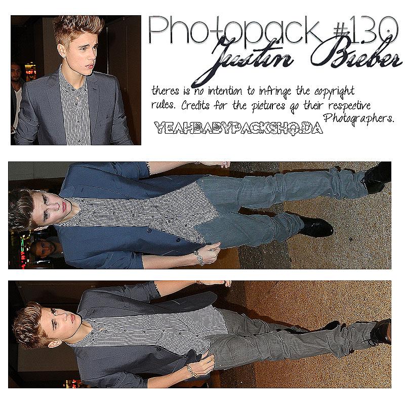 Photopack #130 Justin Bieber by YeahBabyPacksHq