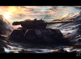 Concept art - Tank by DeaDerV23