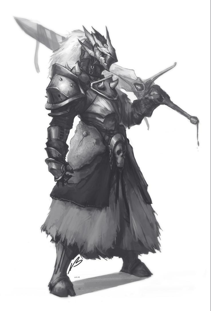 Dragon Slayer - Sketch by DeaDerV23