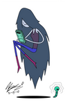 Marceline and her video game