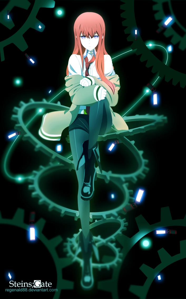 Steins Gate - Makise Kurisu by RegenaldOpura