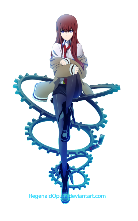 Makise Kurisu V3 by RegenaldOpura