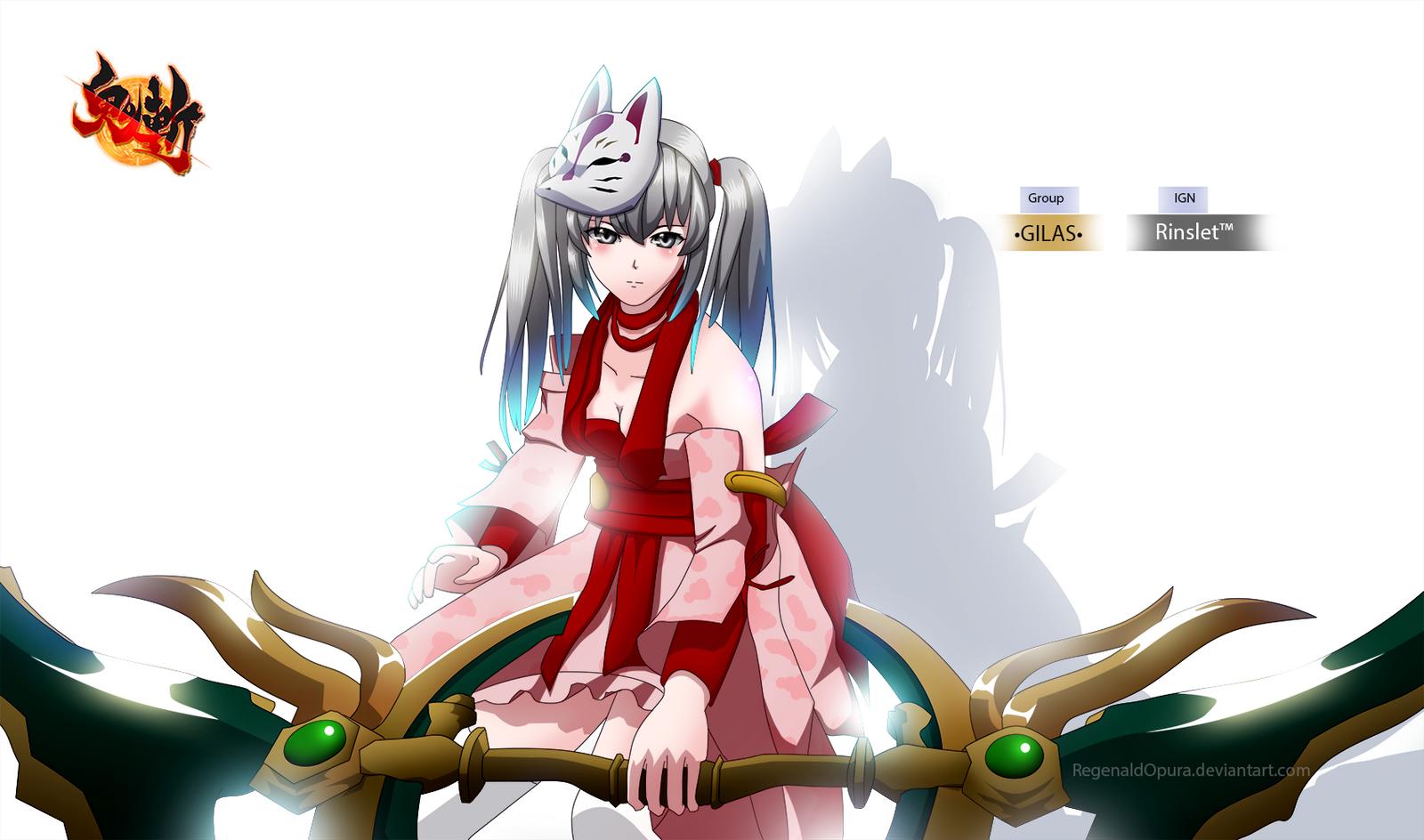 Onigiri Online: Rinslet by RegenaldOpura