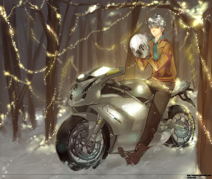 Jack Frost's Xmas by Ahniki