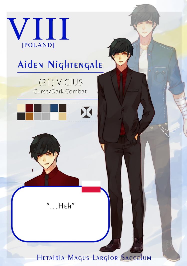HMLS: Aiden Nightengale by Ahniki