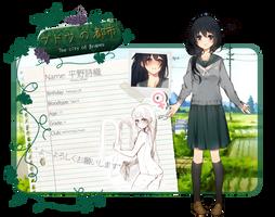 BnT: Hirano, Shiori by Ahniki