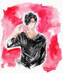 Black shirts watercolor