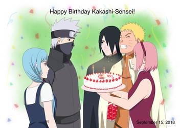 Happy Birthday Kakashi-Sensei by Pungpp